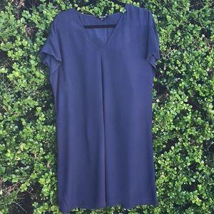 Madewell blue Viscose dress